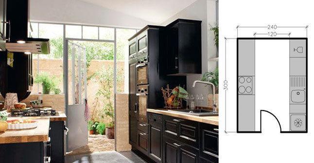 installation d 39 une cuisine parall le m tropolitaine. Black Bedroom Furniture Sets. Home Design Ideas