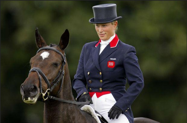 Zara Phillips au JO de Londres