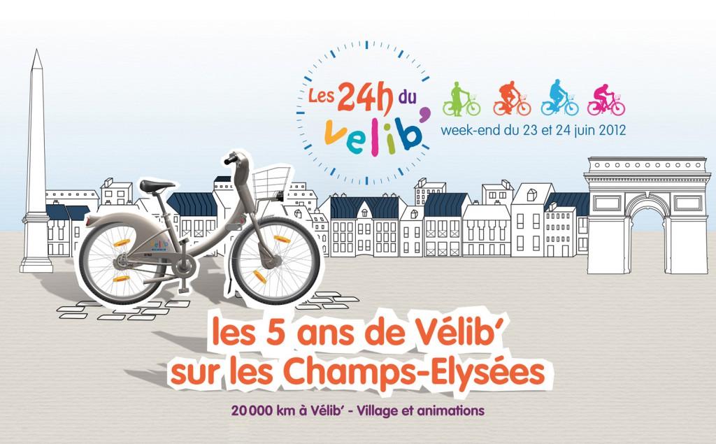 24h de Vélib
