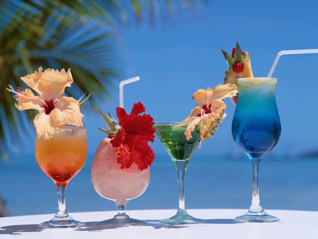 sélection de 3 cocktails