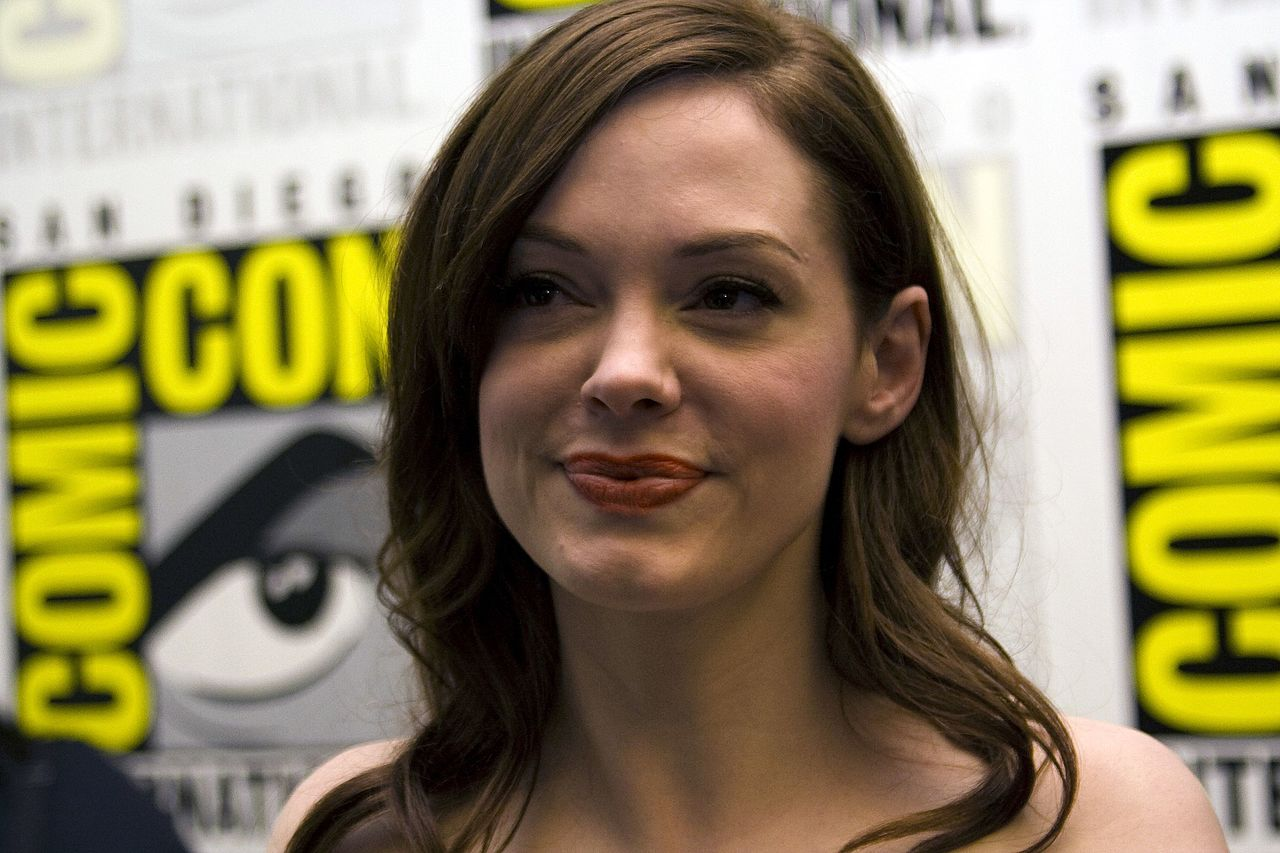 Rose McGowan au Comic Con